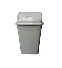 Кош за боклук с люлеещ капак 26л