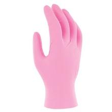 Ръкавици нитрил розови