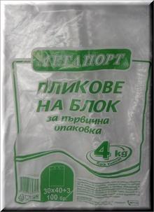 ПЛИК НА БЛОК 30х40см 4кг х100/50