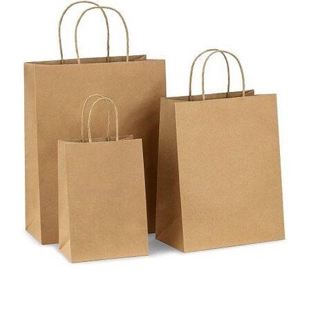 Хартиени чанти с усукана дръжка